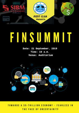 Finsummit | top mba college in hyderabad