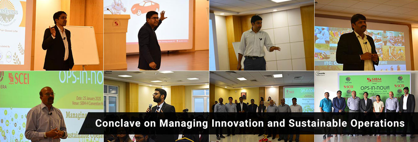 Symbiosis Institute of Business Management Hyderabad-Conclave on Managing Innovation and Sustainable Operations