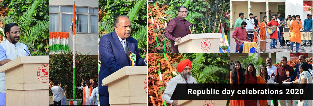 Symbiosis Institute of Business Management Hyderabad-Republic day celebrations 2020