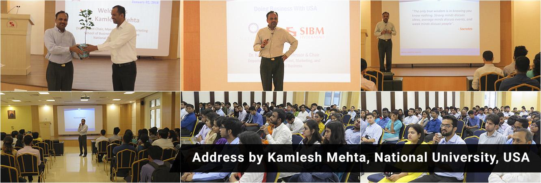 Address By Kamlesh Mehta