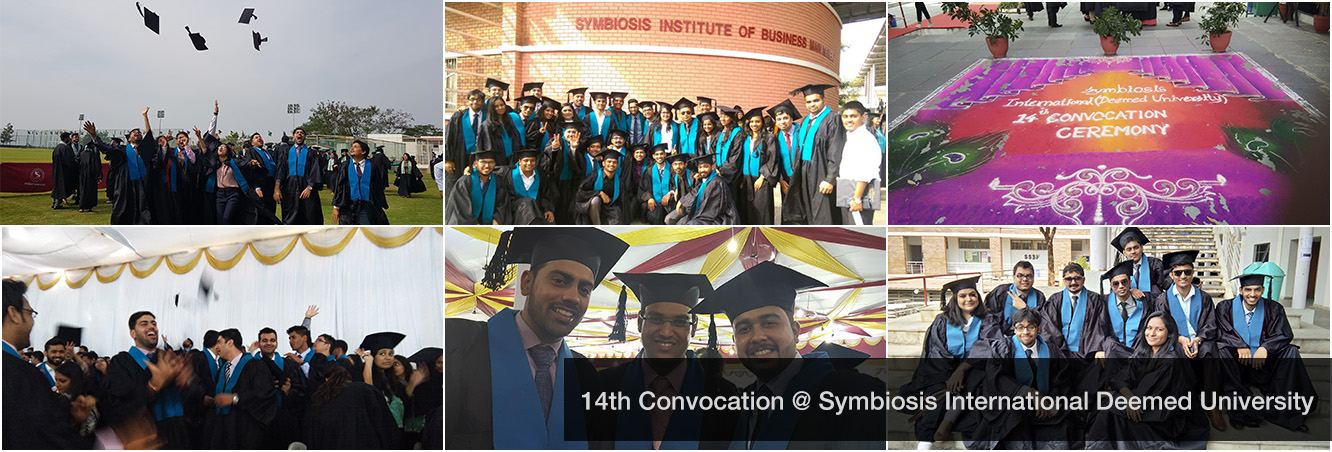 14th Convocation at Symbiosis International Deemed University