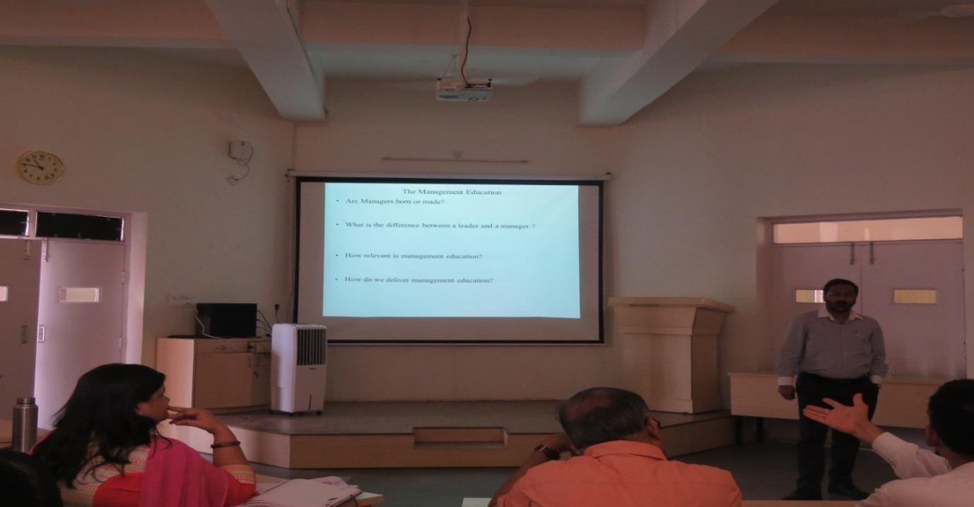SIBM - Hyderabad organized a two day FDP on Case Pedagogy