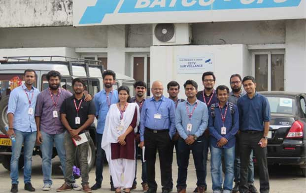Industrial Visit to Batco Integrated Logistics