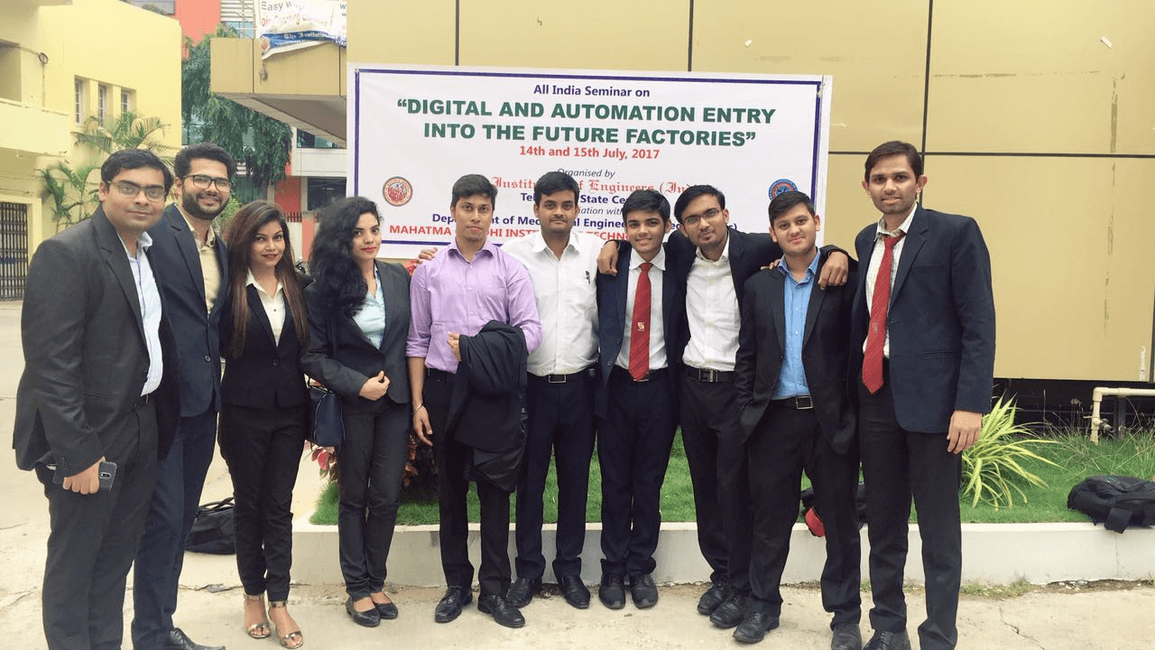 Operations Management Students Participated in the Seminar