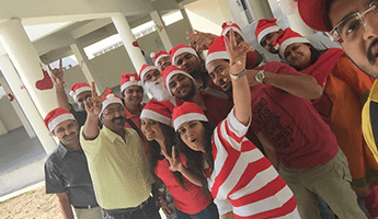 Christmas Party Celebrations at SIBM Hyderabad Campus