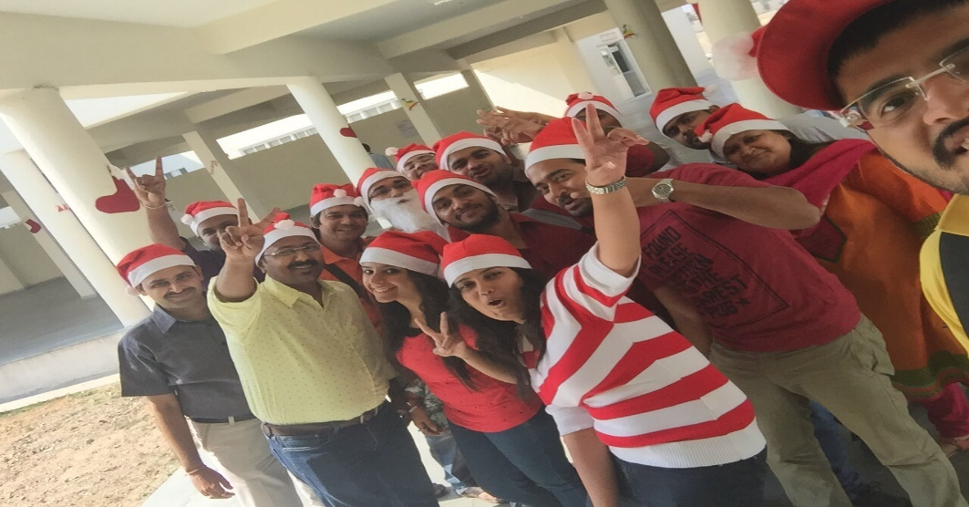 Christmas Party Celebration at SIBM Hyderabad