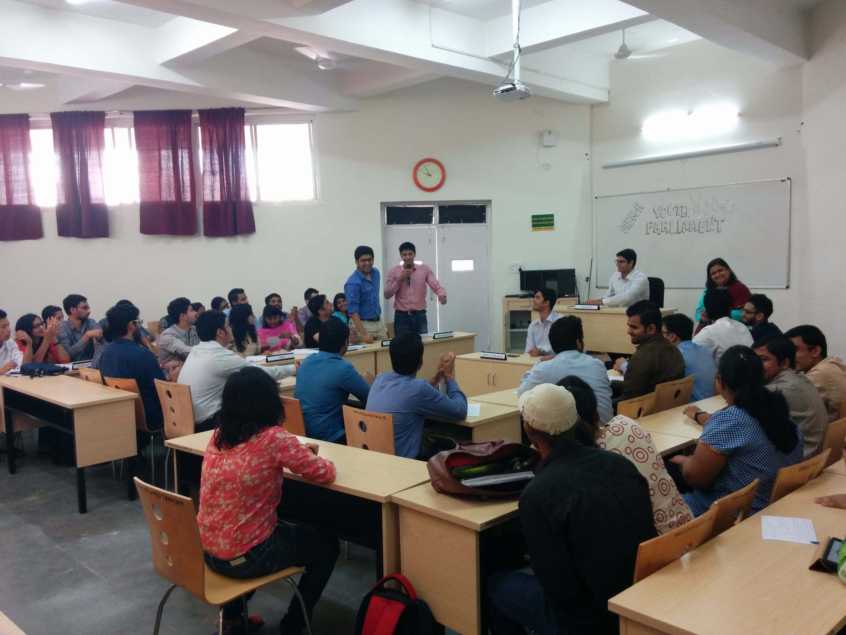 Interactive Classroom Sessions - SIBM Hyderabad