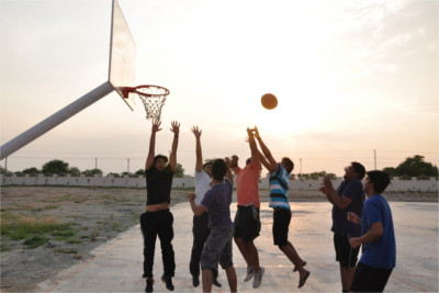 Basket Ball Court Campus - SIBM Hyderabad