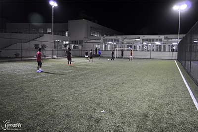 Football Ground Campus - SIBM Hyderabad