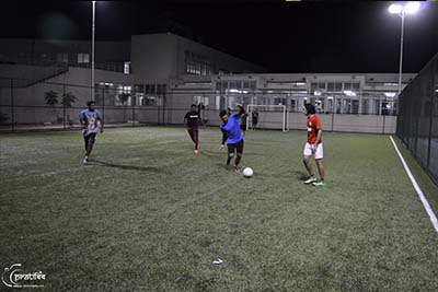 Football Ground Recreation Facility Campus - SIBM Hyderabad