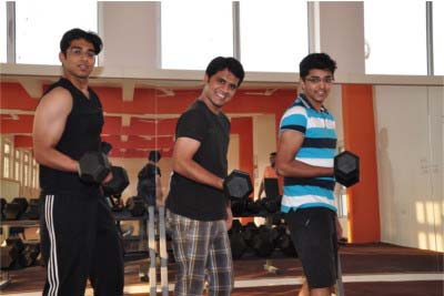 Gym Facility Campus - SIBM Hyderabad