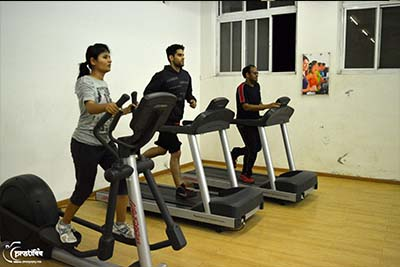 Modern Gym Campus - SIBM Hyderabad