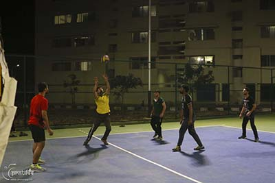 Volleyball Court Campus - SIBM Hyderabad