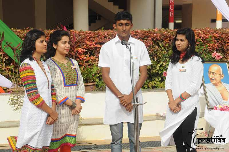 Group song Independance Day Celebration - SIBM Hyderabad