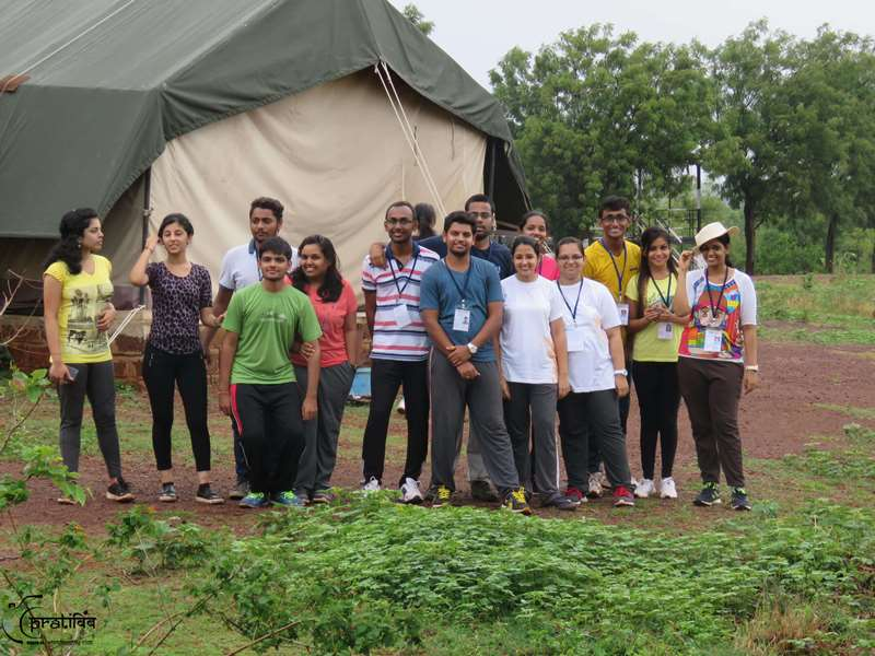 Student Camping Event - SIBM Hyderabad