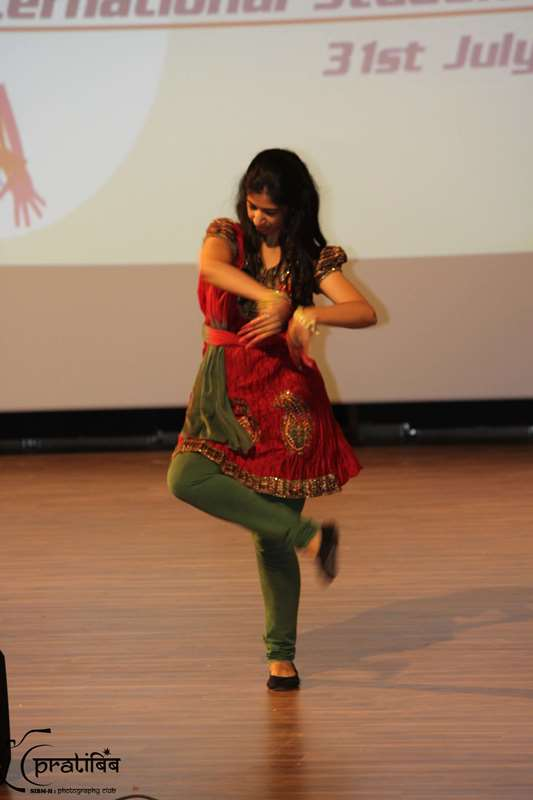 Student Dance Performance at Campus