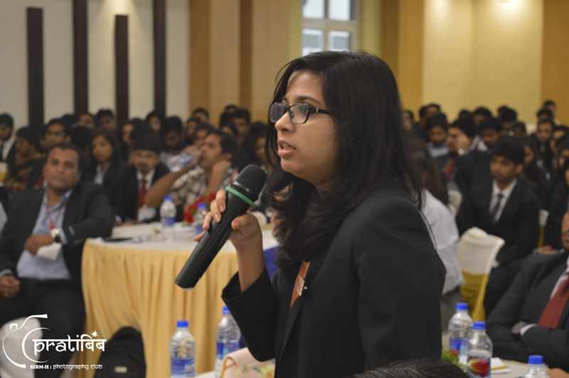 Student Discussion at Event - SIBM Hyderabad