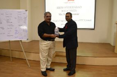 Guest Lecture by Mr. Shivakumar on MBA Rural Marketing