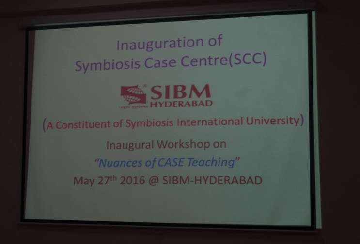 Inauguration of SCC