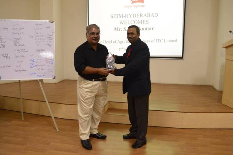 MBA- RURAL MARKETING - GUEST LECTURE – Mr.Sivakumar – ITC - ABD