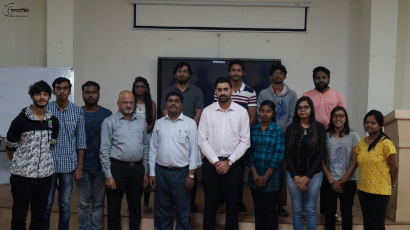 Aurobindo Pharma Guest Lecture by Mr. Mahesh Iyer and Tushar Ghai