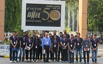 Industry Visit to BHEL - Hyderabad (Ramachandrapuram) Unit