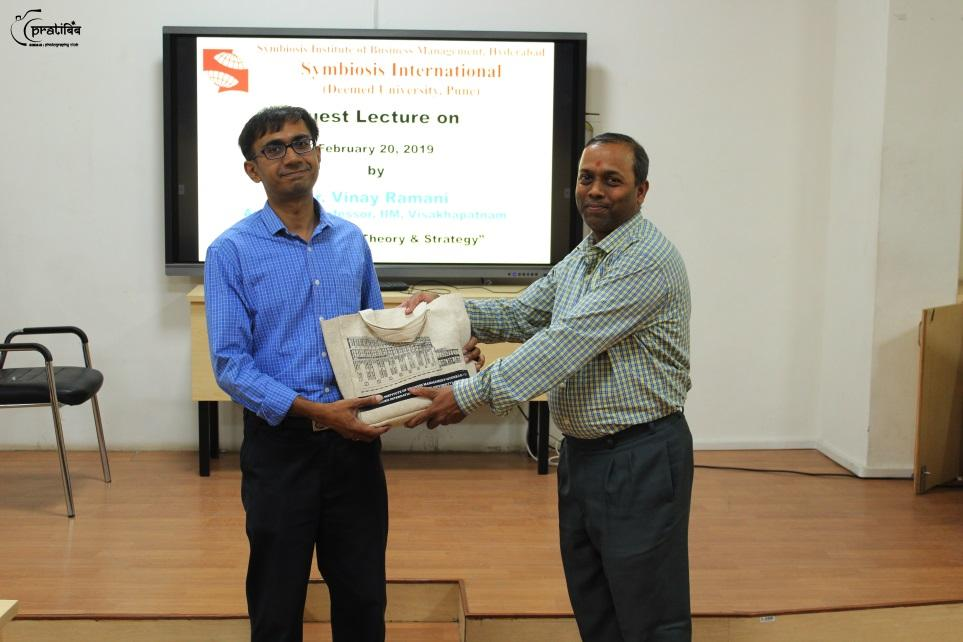Game Theory & Strategy Guest Lecture by Dr. Vinay Ramani