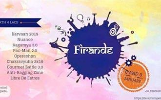 FIRANDE 2K19 – Overall Report