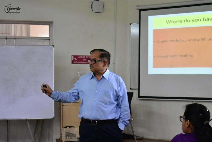 Guest Lecture by Mr. Kaza Sudhakar