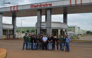 Mahindra & Mahindra Plant visit