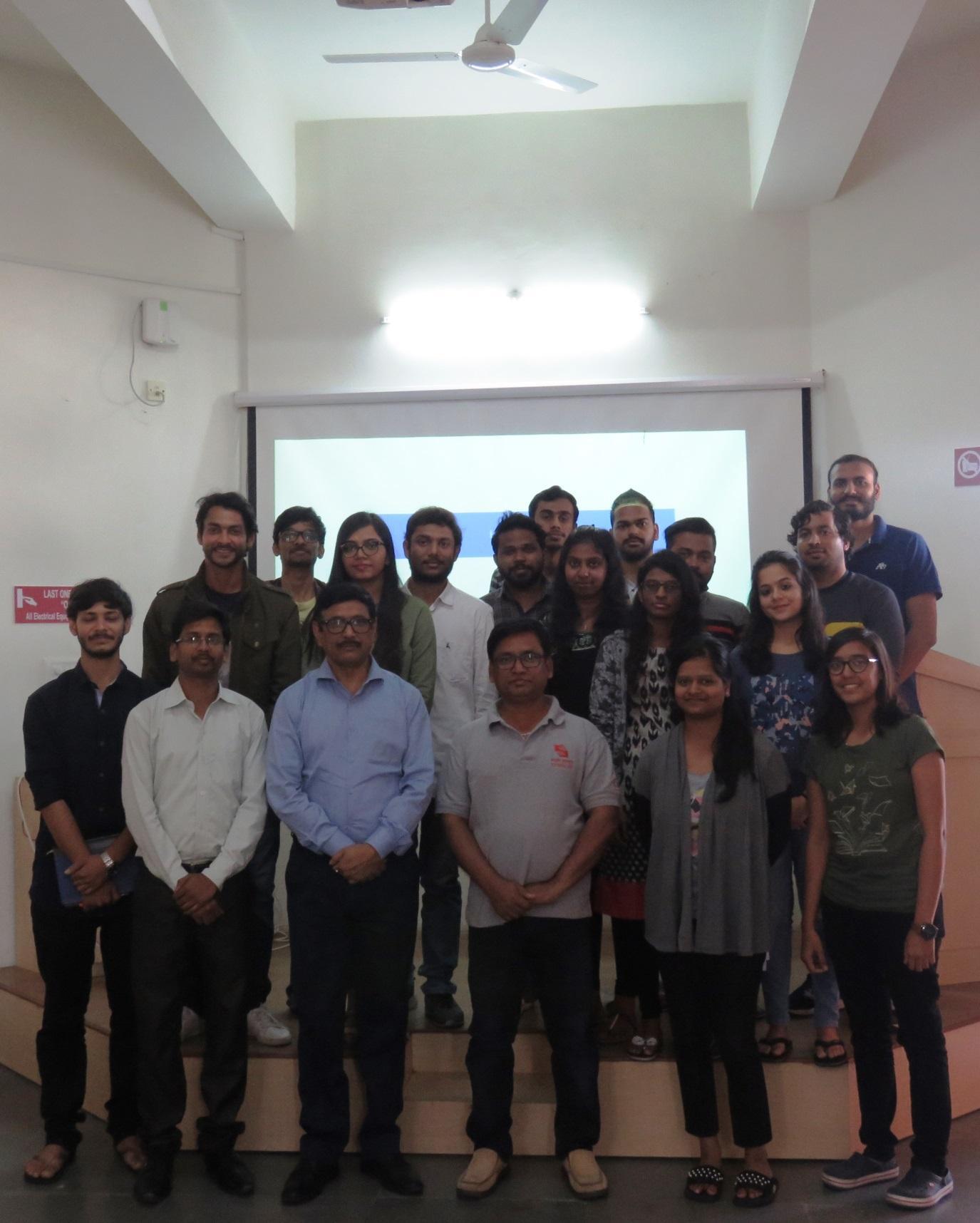 Guest Lecture by  Mr. Bikash Mahalanabish