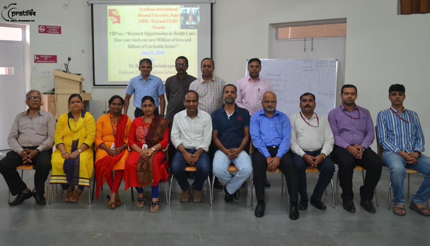 GUEST LECTURE – Dr. Rajaram Govindarajan