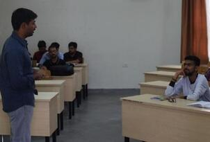 Guest Lecture by Mr. Vamsi Krishna K