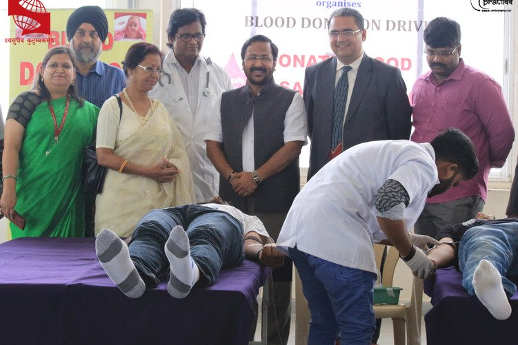 Report on Blood Donation Drive