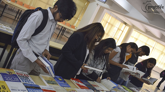 Book Exhibition Event conducted by the Library Committee