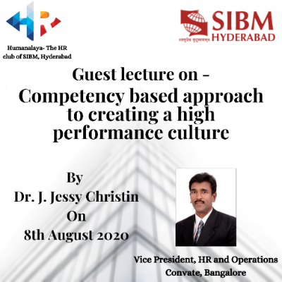 Guest Lecture by Dr. J. Jessy Christin