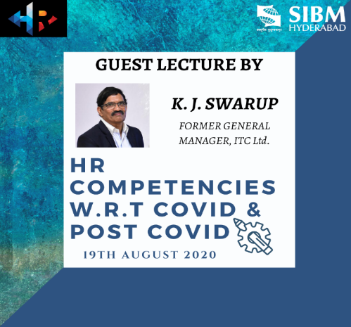 Guest Lecture by Mr. K J A Swarup