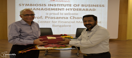 Guest Lecture by Dr. Prasanna Chandra on Managing for Value Creation