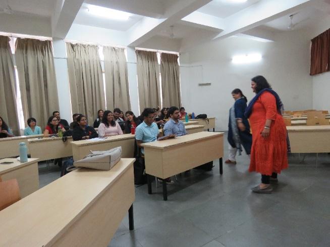 Guest Lecture by Mrs. Nidhi Bandaru