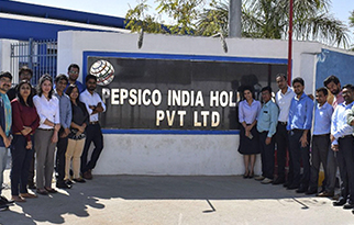 INDUSTRIAL VISIT TO PEPSICO Conducted By-OP$ERA CLUB – OPERATIONS COMMITTEE