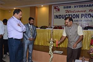 Induction Programme at SIBM-Hyderabad