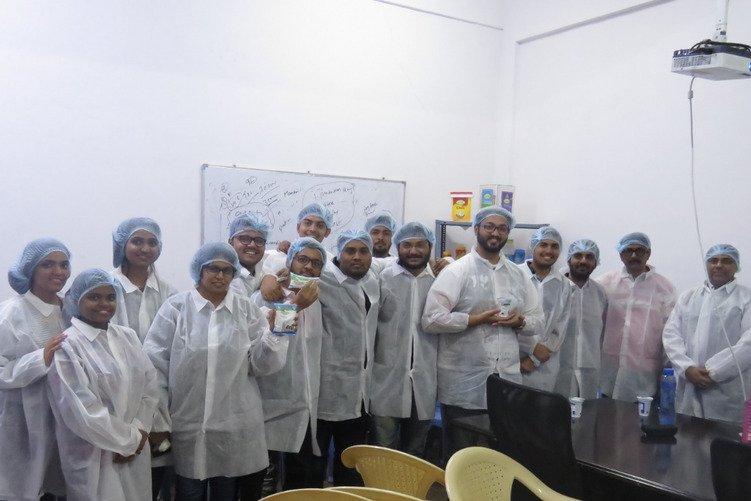 Field Visit to Thirumala Dairy Plant