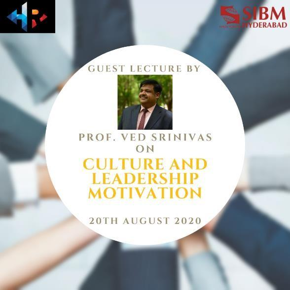 Guest Lecture by Mr. Ved Srinivas