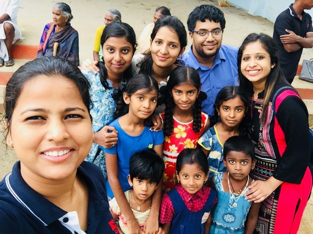Report on Shramdaan event at Mamidipalli Village